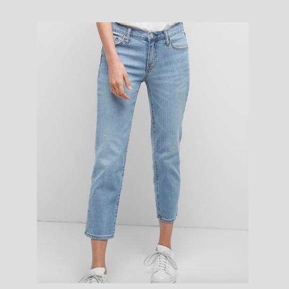 GAP Denim - Gap Womens Mid Rise Slim Crop Jeans Medium Indigo
